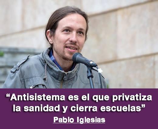 CONFERENCIA DE PABLO IGLESIAS EN BOLIVIA