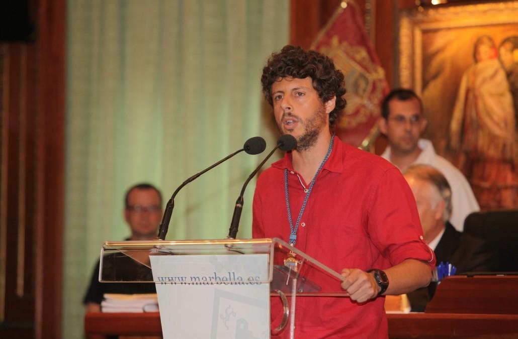 Participación en el Pleno del 27 de Noviembre en el Ayuntamiento de Marbella