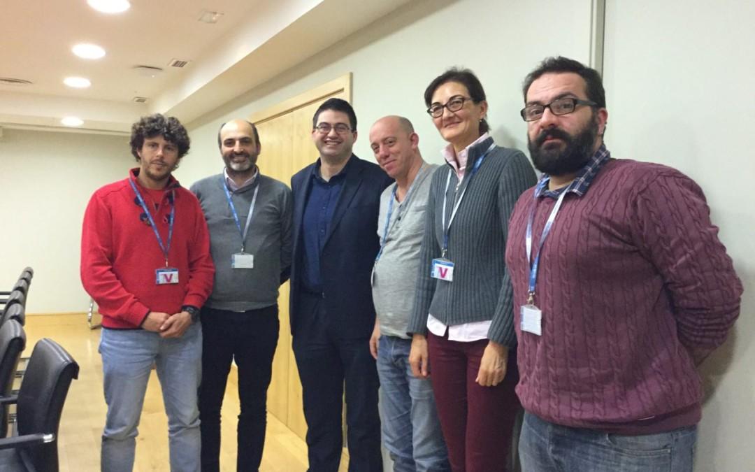 Los concejales de CSSP en Marbella se reúnen con Ahora Madrid.