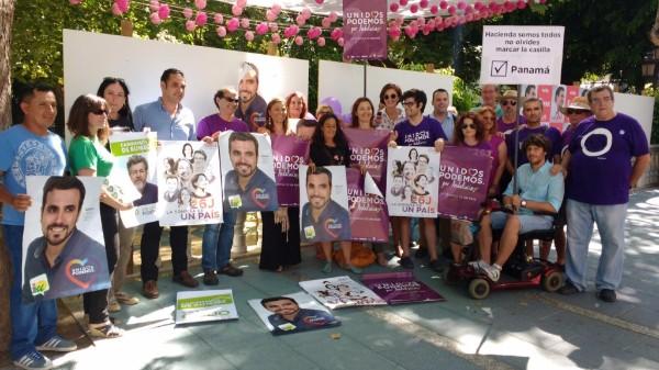 UNIDOS PODEMOS abre la campaña electoral en Marbella.
