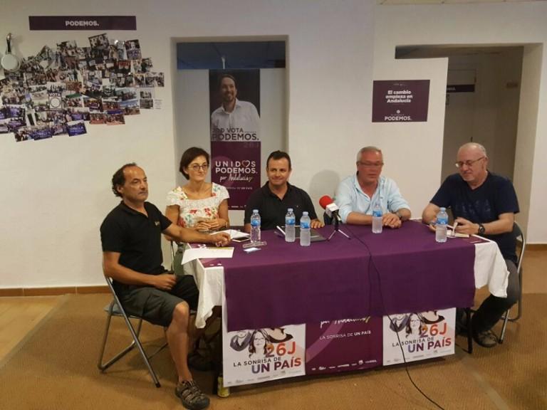 PODEMOS invita a Rafael Piña y a técnicos del ayuntamiento a informar sobre el Bulevar.