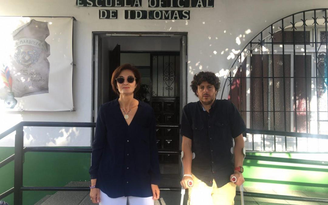 CSSP-PODEMOS reivindica la construcción de una nueva Escuela Oficial de Idiomas