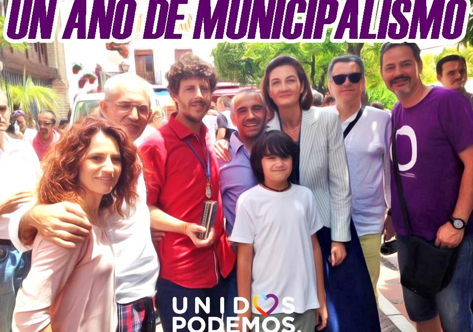 Un año de municipalismo