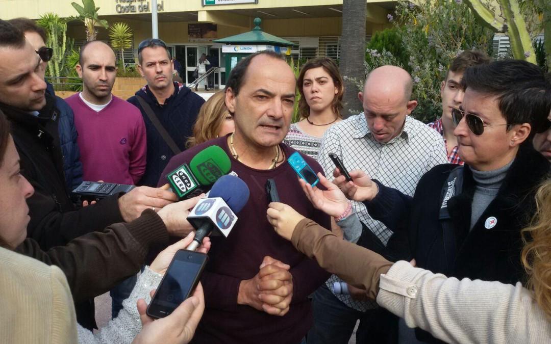 PODEMOS pedirá al Ayuntamiento que denuncie los recortes sanitarios encubiertos sufridos este verano en Marbella.