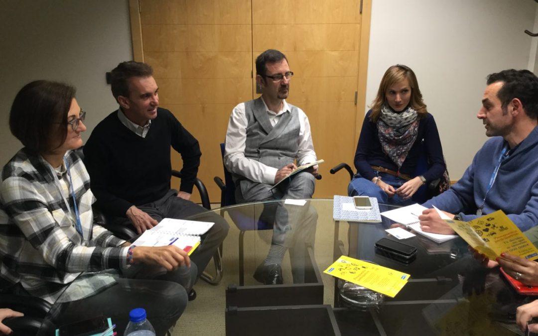 PODEMOS organiza una ronda de encuentros con el Ayuntamiento de Madrid para colaborar en el desarrollo de proyectos en nuestro municipio.