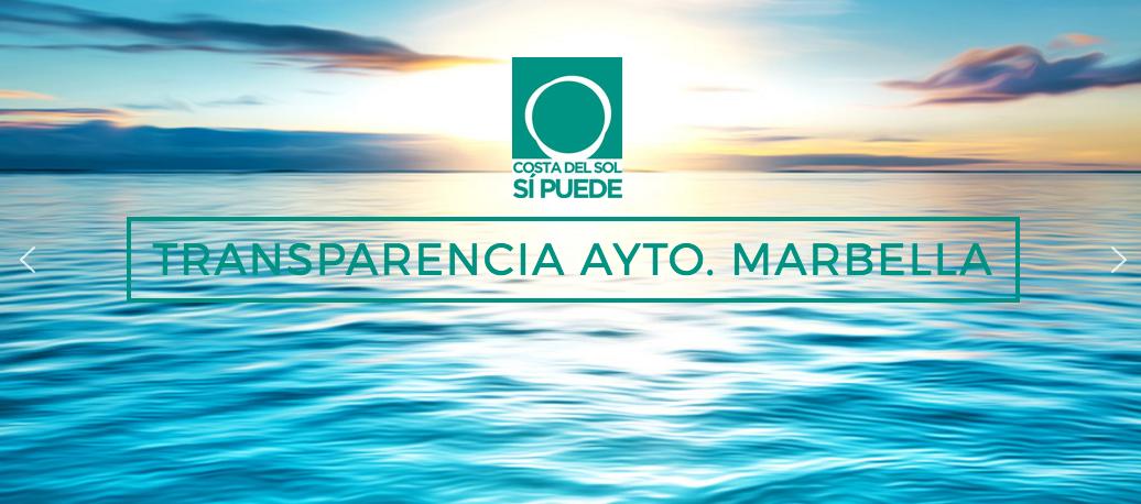 PODEMOS publica los gastos de las ferias de Marbella y de San Pedro de 2016.