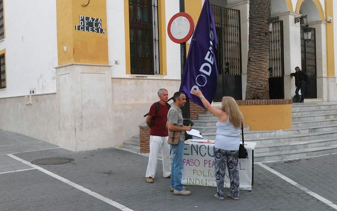 Debate sobre la instalación de semáforos en lugar de la pasarela en San Pedro Alcántara.