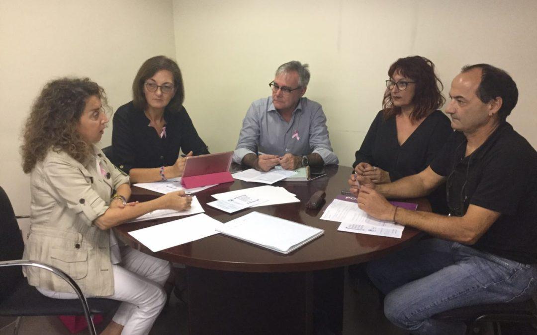 Podemos reclama el rescate ciudadano y la oficina de vivienda a la nueva concejala de Derechos Sociales.
