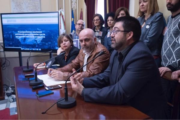 CSSP-PODEMOS apoya al Ayuntamiento de Madrid frente al 155 de Montoro.