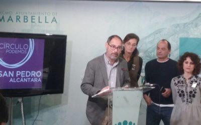 Podemos alerta de las graves consecuencias para Marbella por la segunda prórroga de los Presupuestos Generales.