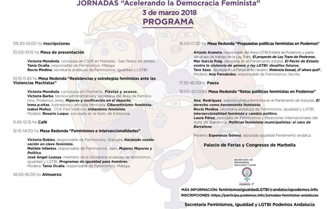 Marbella será sede del presente y futuro de las políticas feministas del país.