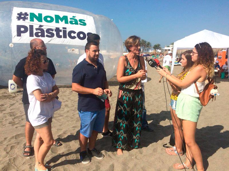 Podemos Marbella San Pedro declara la guerra al plástico en la Costa del Sol
