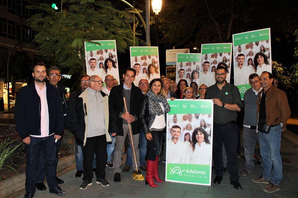 """Adelante Andalucía inicia una campaña hacia el 2D con la vocación de """"transformar Andalucía desde Marbella"""""""