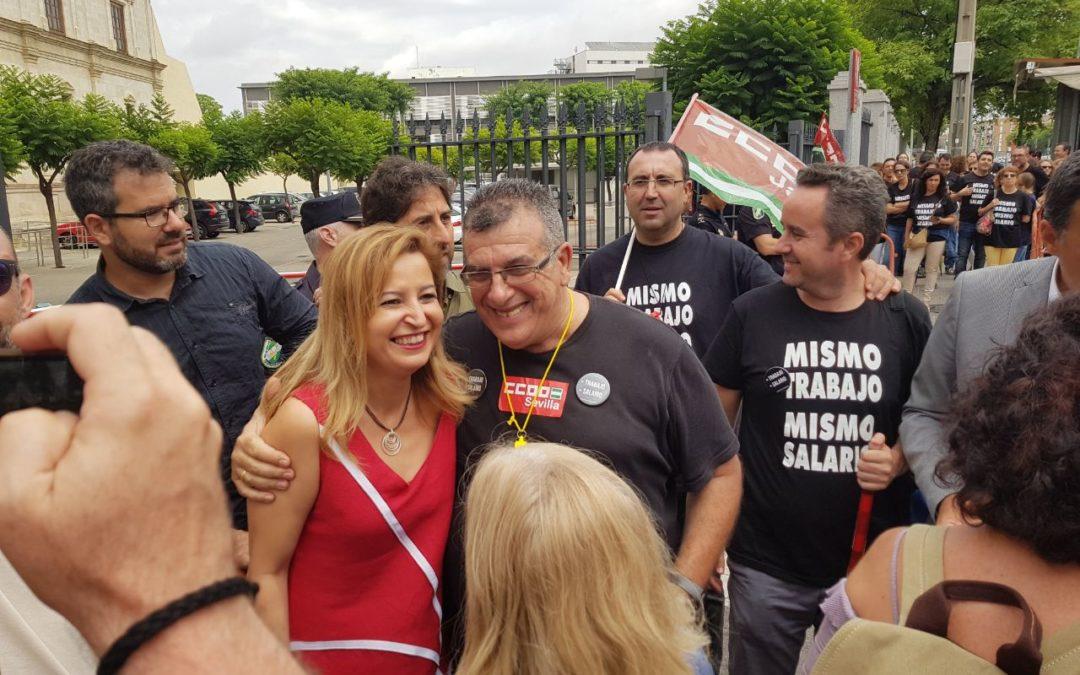 Podemos llevará al pleno las reivindicaciones laborales de los trabajadores de Andalucía Emprende
