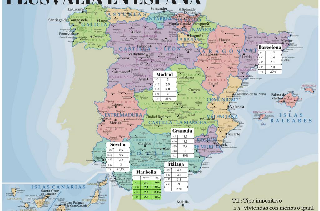 Podemos consigue reducir el impuesto de plusvalía en Marbella