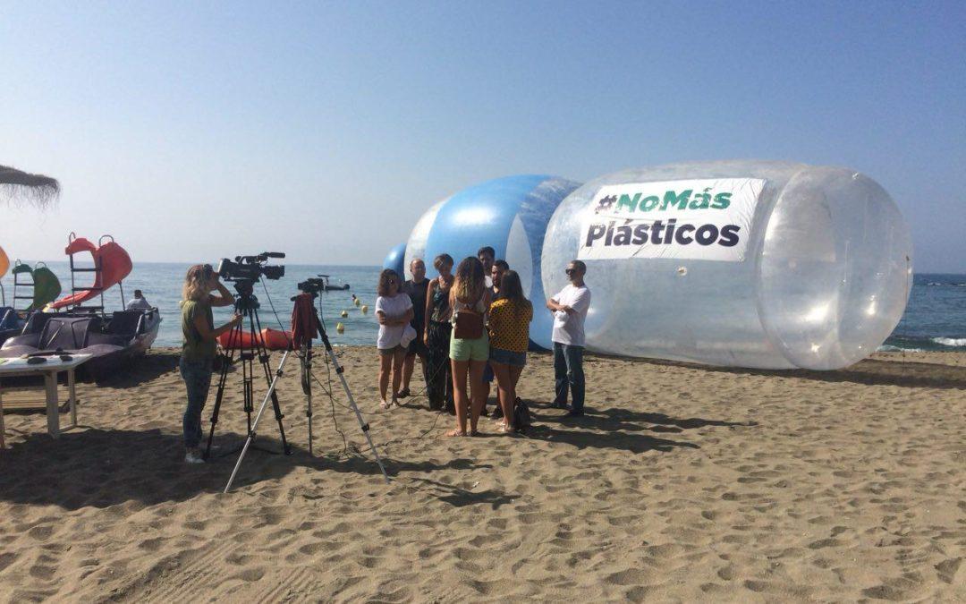 Podemos presenta a pleno la reducción del consumo de plásticos de un solo uso