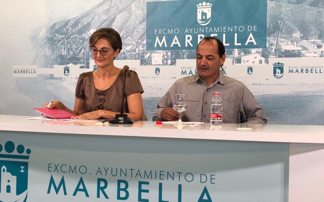 Podemos Marbella San Pedro denuncia la explotación laboral y los incumplimientos de la UTE de empresas mantenedoras del Bulevar de San Pedro