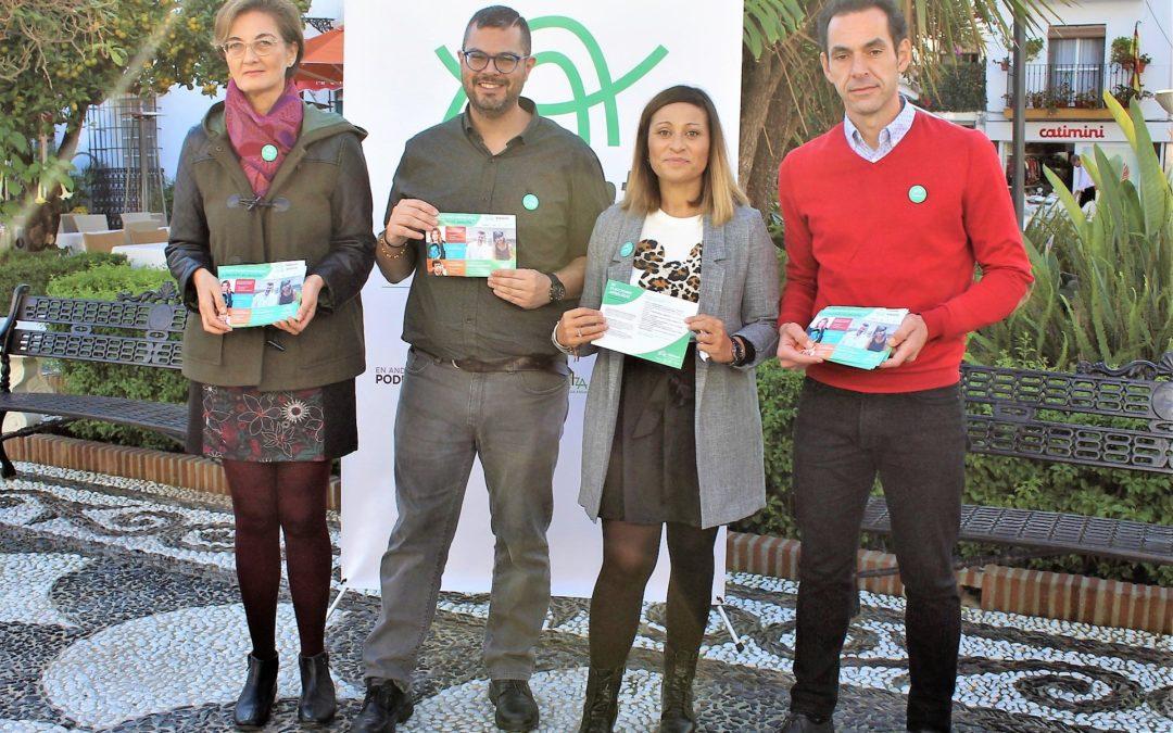 """Adelante Andalucía anuncia una campaña  pegada a la realidad para """"la construcción de propuestas que resuelvan las necesidades concretas de Marbella"""""""