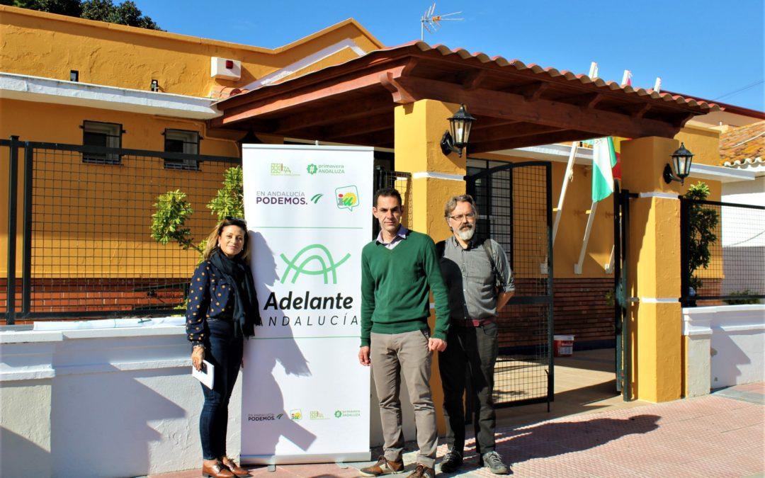 """Adelante Andalucía quiere """"cerrar la brecha de la desigualdad"""" y que se """"aporten los recursos suficientes  para que las prestaciones lleguen en tiempo y forma"""""""