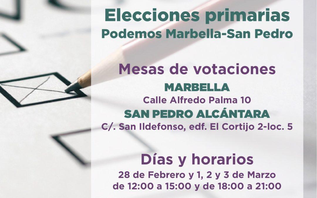 Primarias Municipales Canceladas