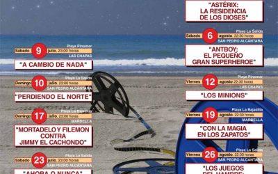 """Unidas Podemos reivindica el regreso a las playas de """"Cine bajo las estrellas"""" una actividad ausente de la programación municipal desde hace tres años"""
